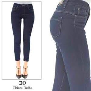 Women's Italian Chiara Dalba Luxury Jeans Sz 48/34
